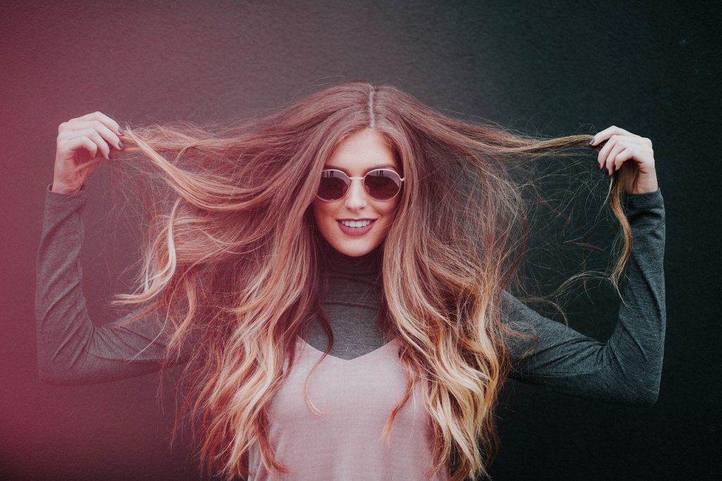 cheveux femme hiver