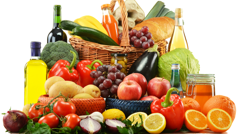 fruits et legumes regime