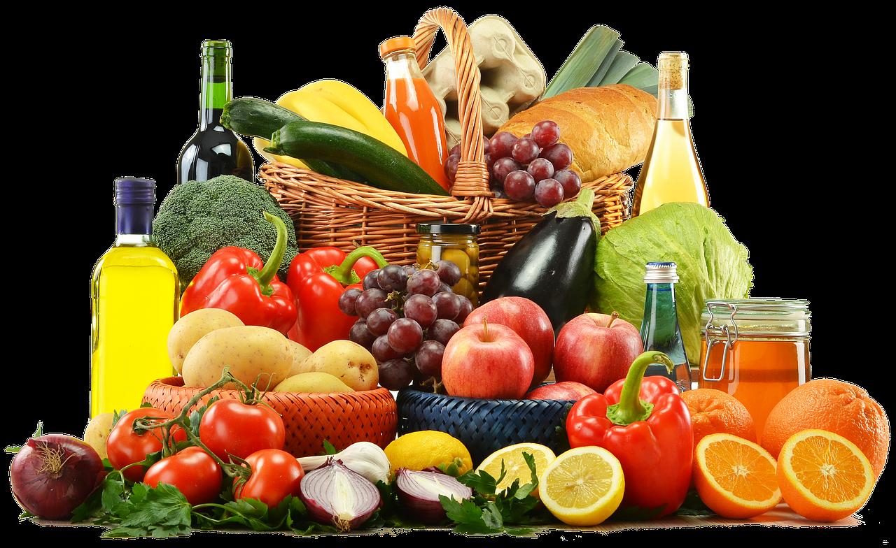 Aliments pour être en bonne santés